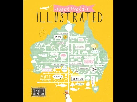 Australia Illustrated - Book Trailer!