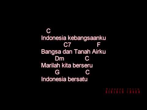 Indonesia Raya (Chord + Lirik)