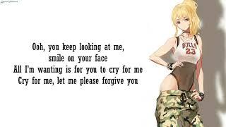 歌詞 cry for me twice