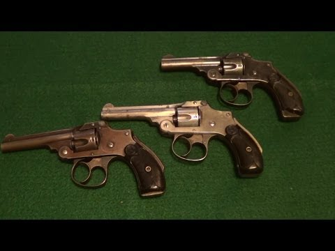Shooting 3 S&W Top Break Revolvers