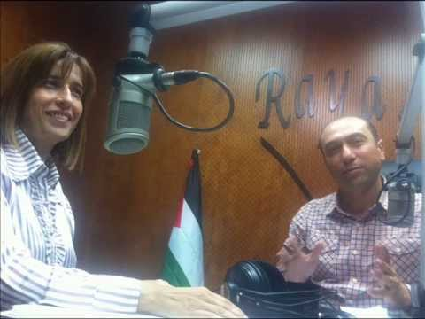 Radio interview, Raya FM, Unemployment in Jerusalem