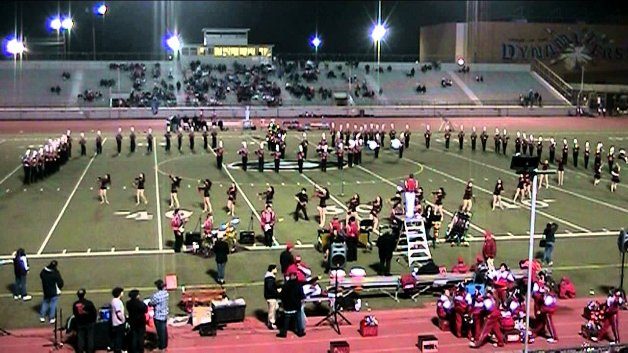 John Burroughs High School Marching Indians Field Show - YouTube