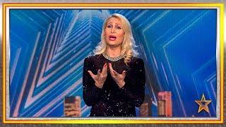 Pese a no cantar bien, logra que Risto no dé al botón rojo | Audiciones 3 | Got Talent España 2019
