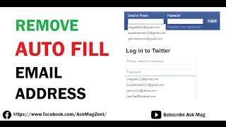 How to remove an email address on facebook sign in facebook info remove auto fill email address history ccuart Gallery