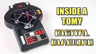 Inside a Tomy Digital Diamond game from 1978!