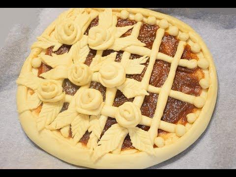 Как слепить пирог из дрожжевого теста фото