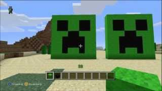 MINECRAFT: HOW TO MAKE A CREEPER FACE