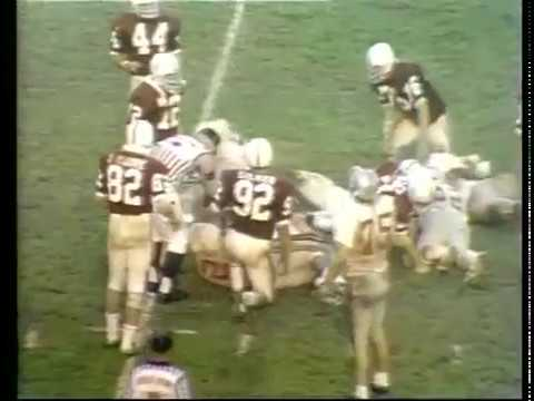 1971 Rose Bowl Stanford vs Ohio State No Huddle