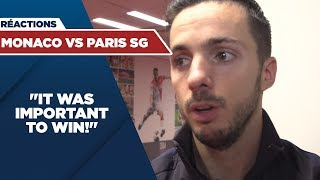 VIDEO: POST GAME INTERVIEWS : AS MONACO vs PARIS SAINT-GERMAIN