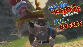 Banjo Kazooie: Nuts and Bolts All Bosses