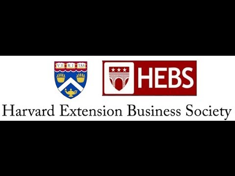 Harvard Extension Business Society Health Entrepreneur Sympo