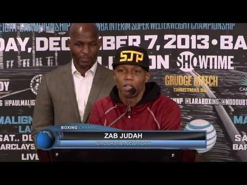 Boxing Results- Malignaggi vs. Judah Post Fight Presser Conference
