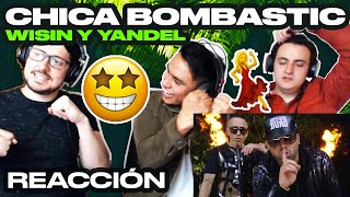 [Reacción] Wisin & Yandel - Chica Bombastic (Official Video) - ANYMAL LIVE 🔴