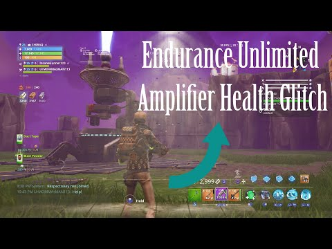 ENDURANCE UNLIMITED AMPLIFIER HEALTH AFK GLITCH! WORKS IN ALL STORMSHIELDS! thumbnail