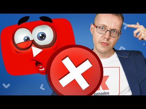 Ошибка доверия на YouTube. Как авторам решать проблемы? Новости YouTube 29.01.2020
