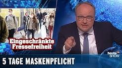 Gesichtsmasken – das Trendaccessoire des Sommers | heute-show vom 01.05.2020