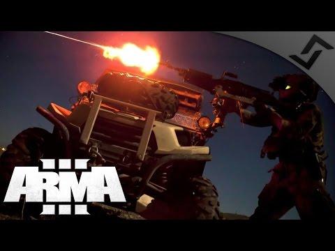 M240B Night Gunner - ARMA 3 - Extract Under Fire Black on Ammo