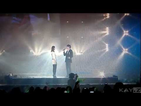 [Hope Concert 2010] [CAM] Lee Seung Gi with Shin Min-A (I Love You from Now On)