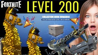 Fortnite: Collection Book Level 200 (STW) Getting The BEST Legendary Pistol.