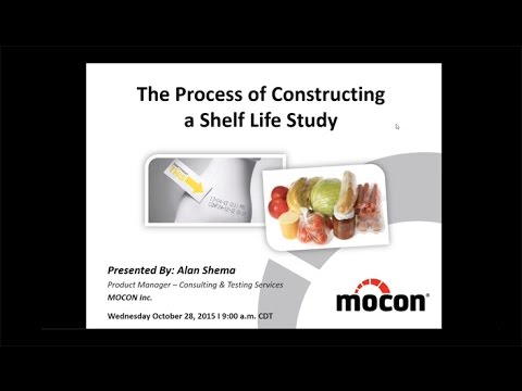MOCON Webinar: The Process of Conducting a Shelf Life Study