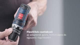 BOSCH GSR 12V-15 FlexiClick akkus fúrócsavarozó