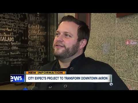 Street Project Could Transform Downtown Akron