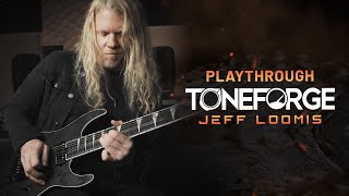 "Jeff Loomis performs ""Heir to the Tone"" with Toneforge Jeff Loomis"