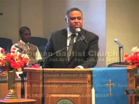 "Canaan Baptist Church - SERMON - ""Watch Your Mouth"" - 20121021 @ 11a"