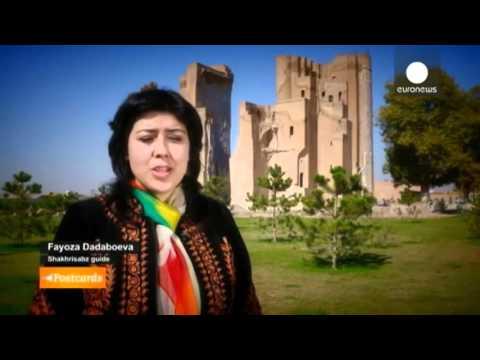Sight's of Uzbekistan   Ak Saray,  The white Palace, Shahrisabz