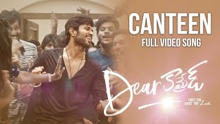 Canteen Song Dear Comrade Telugu Vijay Deverakonda Rashmika Bharat Kamma