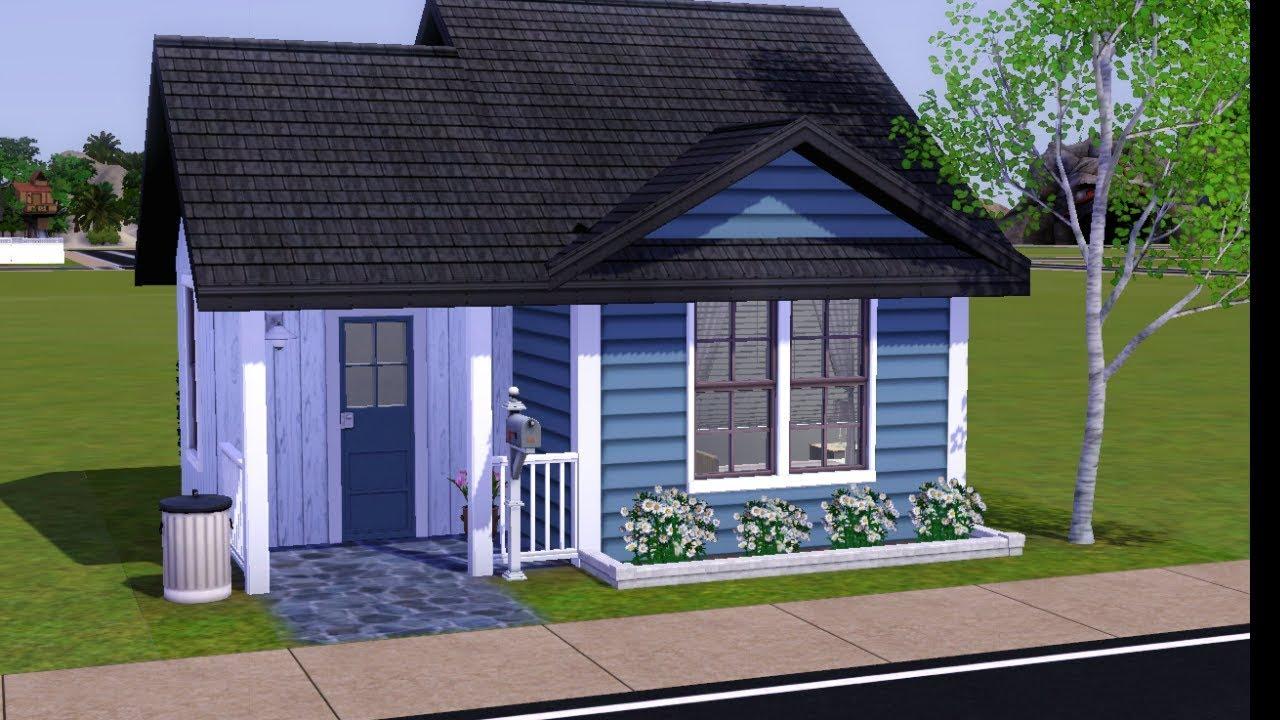 The Sims 3 Speed Build Tiny House Youtube