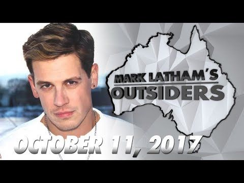 Mark Lathams Outsiders: Milo Yiannopoulos