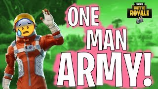 MOST INTENSE FORTNITE FINISH EVER! Battle Royale Gameplay