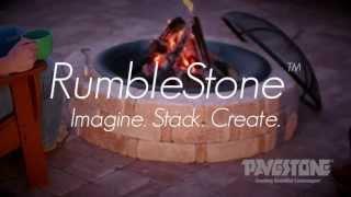Pavestone Rumblestone™ Round Fire Pit