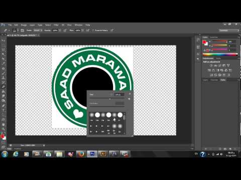 Adobe photoshop cs6 how to save png logo