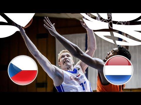 Czech Republic v Netherlands - Full Game - FIBA U20 European Championship Division B 2018