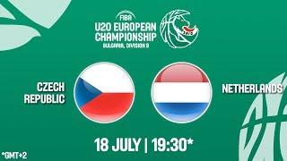 LIVE 🔴 - Czech Republic v Netherlands - FIBA U20 European Championship Division B 2018