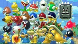 Super Mario Maker - All Enemies