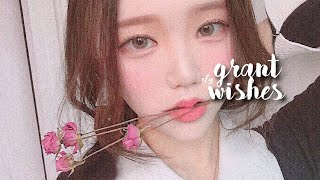 ‧₊˚ GRANT ANY WISH IN ONE LISTEN ⋆。˚ extremely powerful wish granter ✧