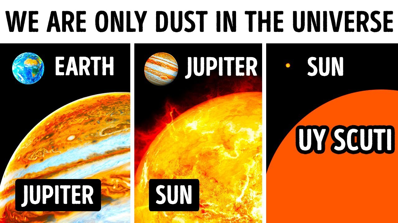 You'll Feel Tiny Seeing True Size of the Universe