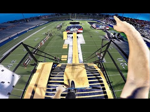 WORLD FIRST ON MEGA RAMP!
