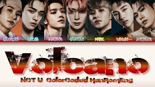NCT U - ''VOLCANO'' Lyrics 가사 (Color_Coded_HAN_ROM_ENG) [日本語字幕]