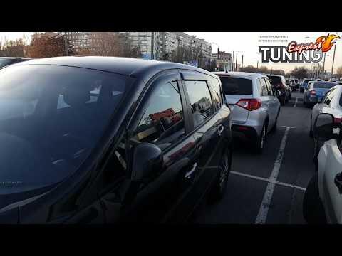 Ветровики окон Renault Scenic 3 2009-2013 / Дефлекторы Рено Сценик 3 / Аксессуары для тюнинга авто