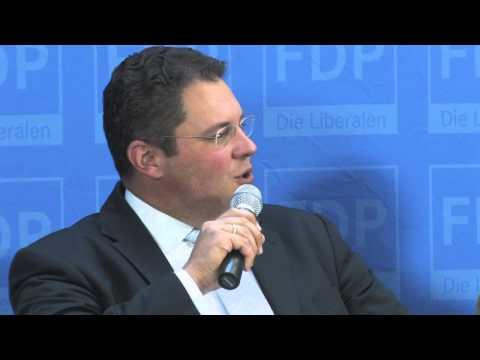 Podiumsdiskussion mit Patrick Döring, Hans-Joachim Otto, Martin Grüner und Peter Blechschmidt