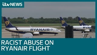 Pensioner 'depressed' after racial abuse on Ryanair flight | ITV News