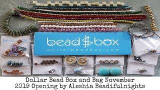 Dollar Bead Box and Bag November 2019 Opening
