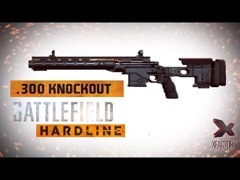 Battlefield Hardline .300 KNOCKOUT unlock