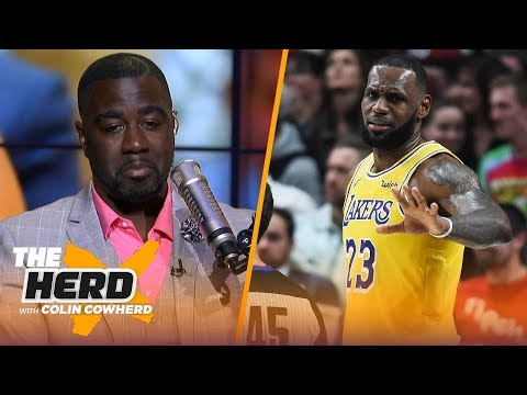 Chris Haynes evaluates LeBron's 0-3 Lakers: It's too soon to push the panic button | NBA | THE HERD