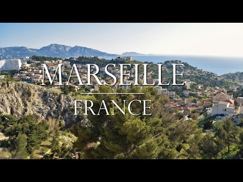 Marseille France: Port and a Day in the City