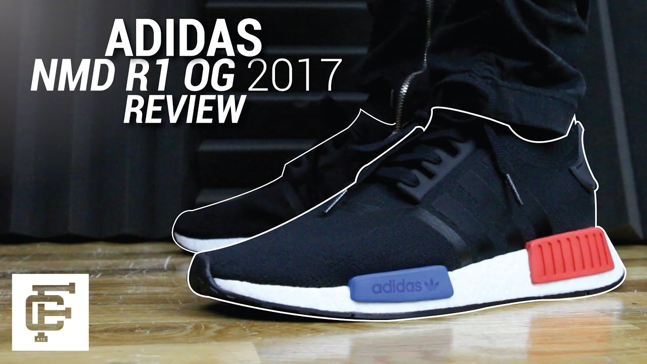 1685ec8d017d ADIDAS NMD R1 OG 2017 REVIEW - YouTube